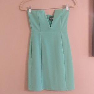 Brand New mint green colored dress